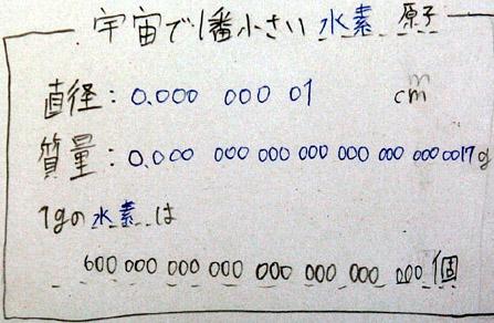 さ 原子 大き 原子の大きさ/2年理科『化学』/takaの授業記録2003